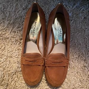 Michael Kors wedge loafers